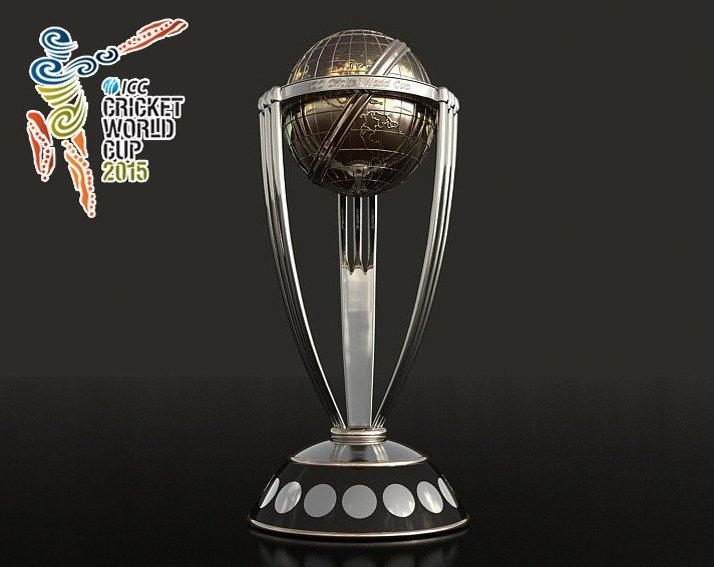 ICC Cricket Cup 2015 Trophy 3D Model in Awards 3DExport