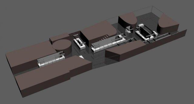 Expo center 3D Model