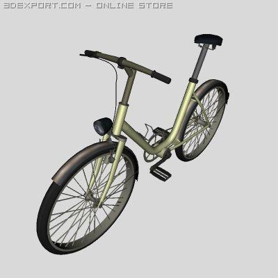 Gonny bike 3D Model
