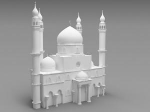 masjid 3D Models - Download 3D masjid Available formats: c4d, max