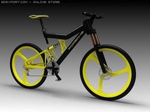 Porsche Bicycle 3D Model