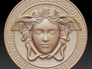 Gorgon medusa Bas Relief