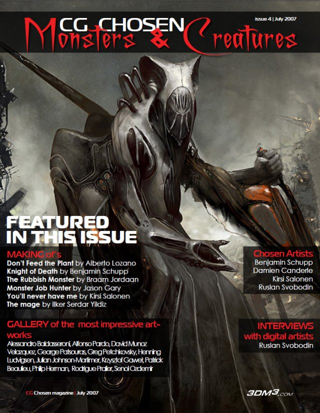 CG Chosen Monsters Creatures magazine No4