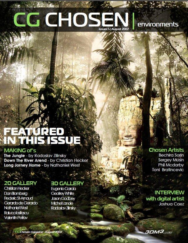 CG Chosen Environments magazine No5