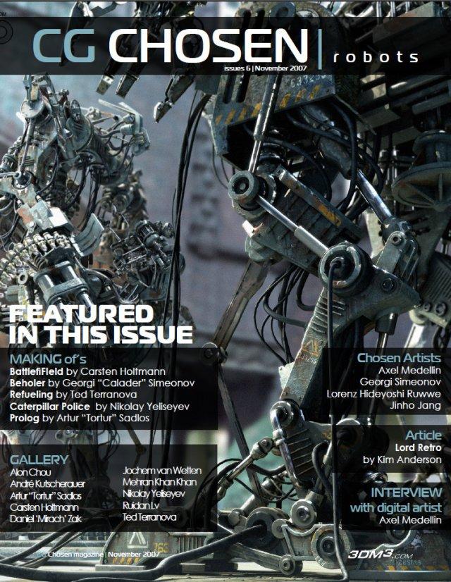 CG Chosen Robots magazine No6