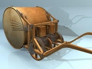 Leonardo mechanical drum