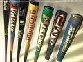Baseball bats collection
