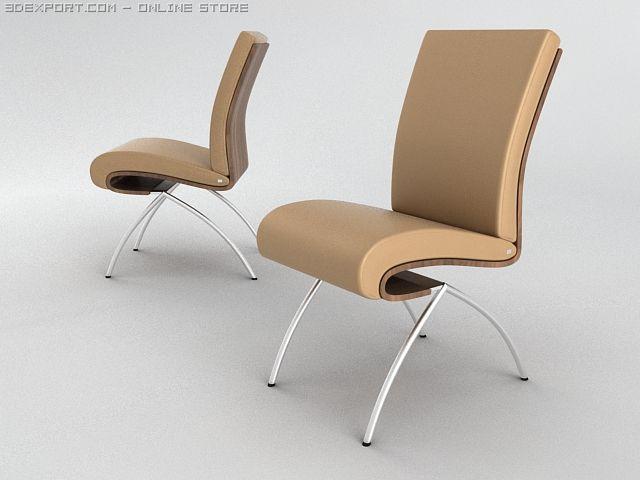 Chair Rolf benz 3D Model