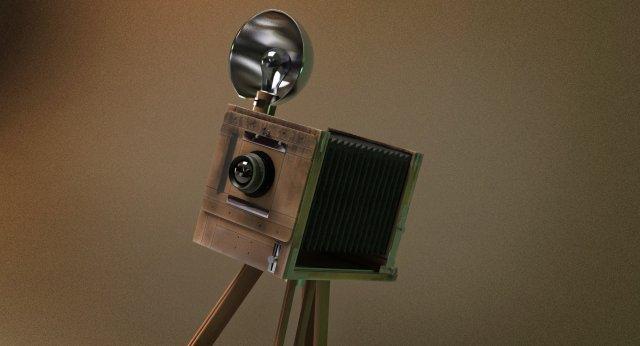 Antique camera 3D Model