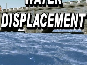 Water DISPLACEMENT map