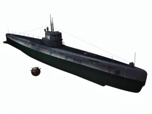 S189  Project 613  Russian submarine