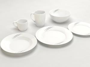 Common Round Dishes