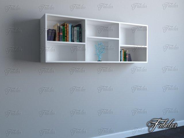 Bookshelf 05 3D Model