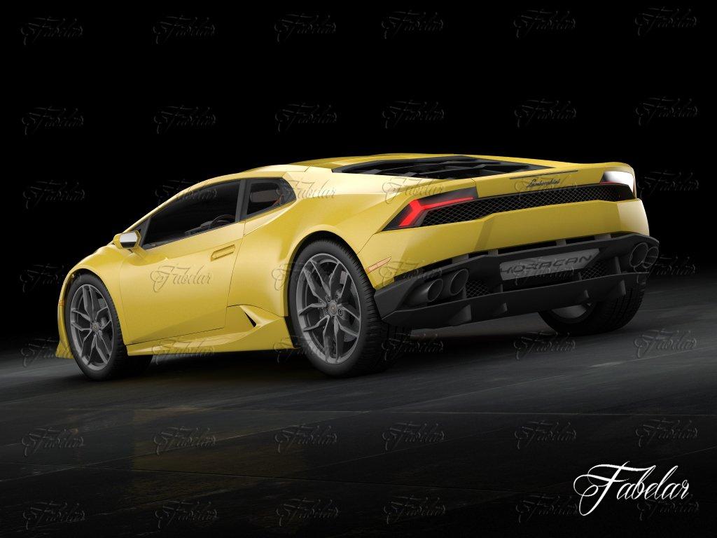 Lamborghini Huracan LP 610 4 3D Model