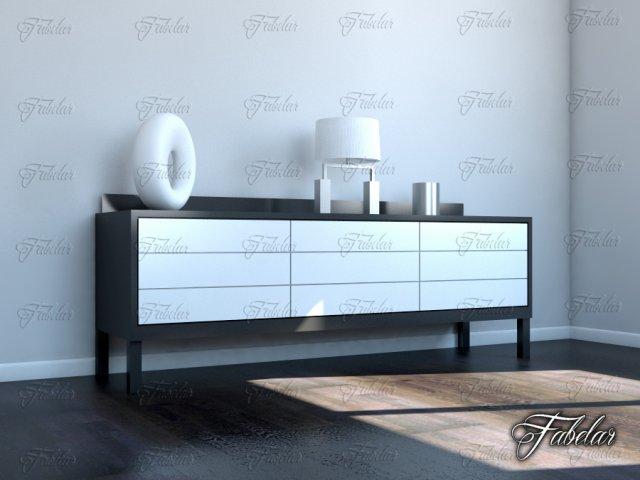 Dresser 05 3D Model