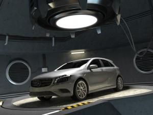 Mercedes A class w176 garage
