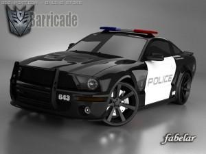 Mustang Shelby GT500 Barricade