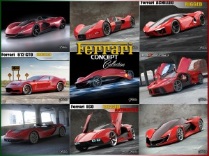 Ferrari Concept Collection