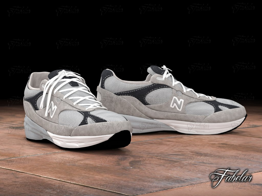 plus récent 005eb 892db New Balance Modèle 3D in Vêtements 3DExport
