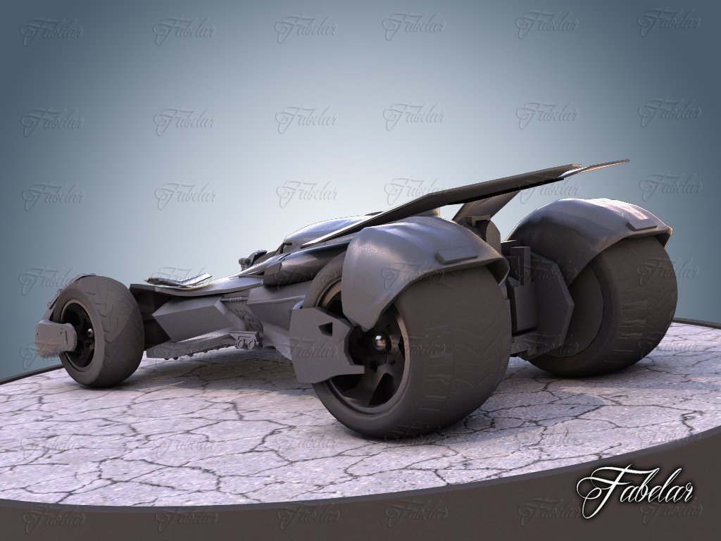 Bat vehicle 01 3D Model in Concept 3DExport