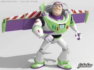 Buzz Lightyear Rigged
