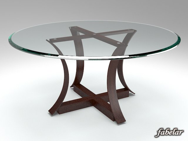 Table 09 3D Model
