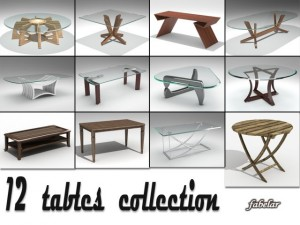 Tables collection 1