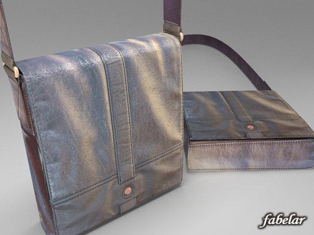 Shoulder bag 3D Model