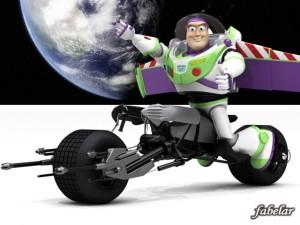 Buzz Lightyear Batpod Edition