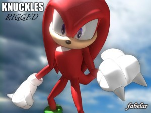 KNUCKLES RIGGED