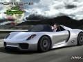 Porsche 918 spyder Vray