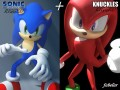 Sonic  Knuckles rigged
