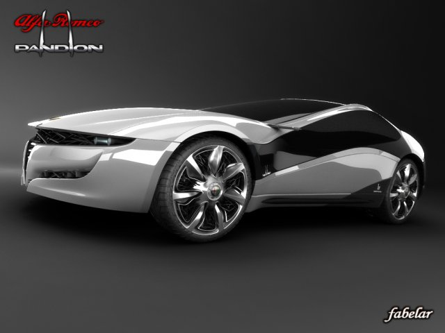 Alfa Romeo PANDION 3D Model