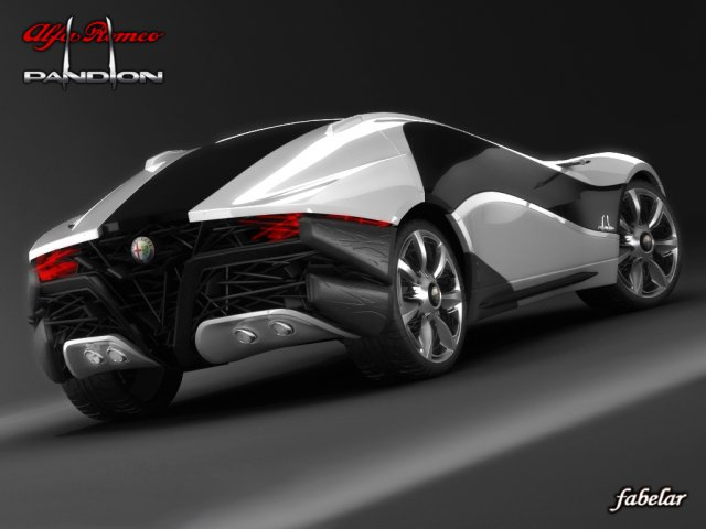 Alfa Pandion STD MAT 3D Model