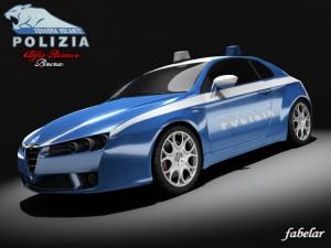Alfa Brera Polizia