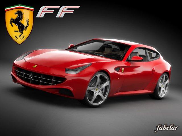 Ferrari FF 3D Model