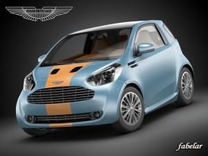 Aston Martin Cygnet racing