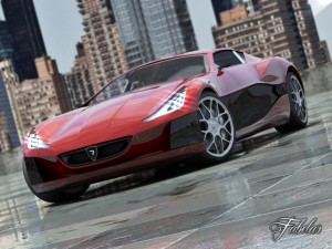 Rimac concept One 20