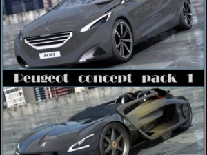 Peugeot Concept Pack 1 20