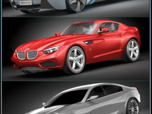 3D Models BMW concept pack 2