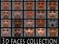 3D faces collection 1