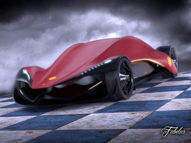 Ferrari Ineo concept 3D Model