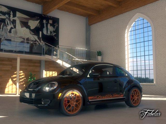 Volkswagen Maggiolino RS 3D Model
