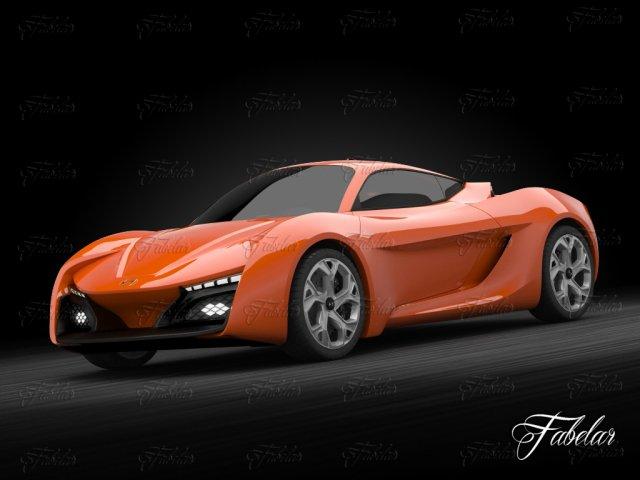 Hyundai Passocorto 3D Model