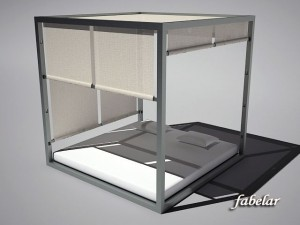 Four poster bed 2