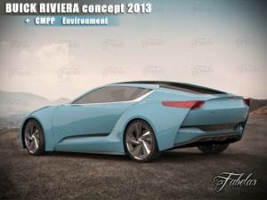 Buick Riviera concept  Environment
