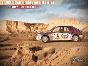 Lancia Delta Martini  Environment