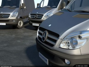 Mercedes New Sprinter Pack