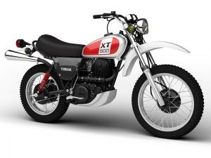Yamaha XT500 1975
