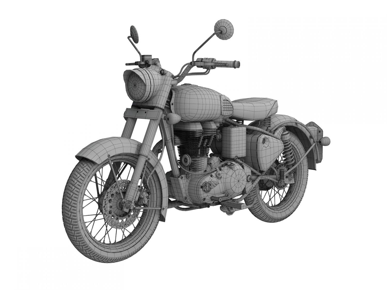 Royal Enfield Classic 500 2016 3D Model in Motorcycle 3DExport